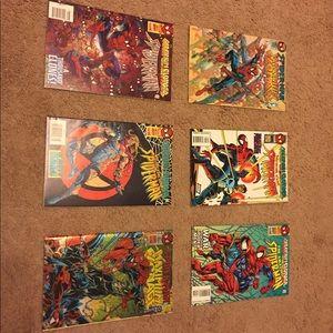 Spider Man Maximum Clonage 1-6 Full Set High Grade